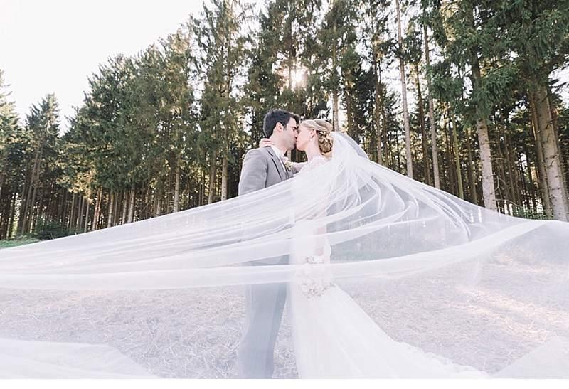 Corinna and Sebastian – Romantic Barn Wedding from Laboda Wedding Photography