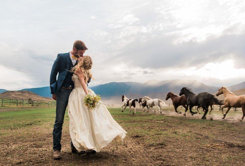 Andrea and Eoin – Gorgeous Horse Ranch Wedding from Story of Eve and Jelger & Tanja