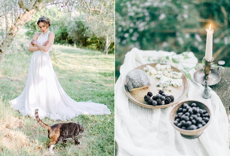 Graceful Wedding Inspirations at Villa Montanare by Weddings by Silke and Diana Frohmüller