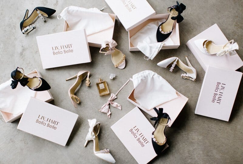 Bridal Shoe Collection by Bella Belle Shoes and Enchanted Atelier by Liv Hart