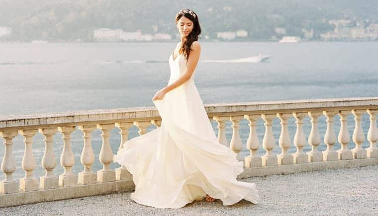 Graceful Lake Como Bridal Inspirations by Celine Chhuon Photography
