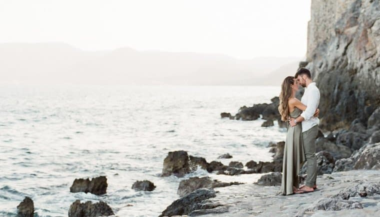 Pre-Wedding Shooting at the Grecian coast by Gert Huygaerts