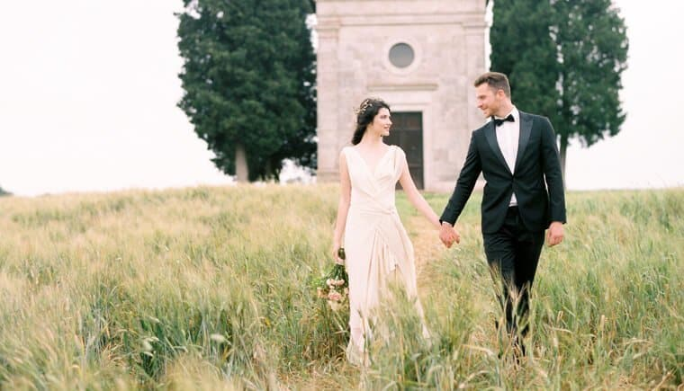 Timeless Elegance in Tuscany by Weddings by Silke and Melanie Osorio