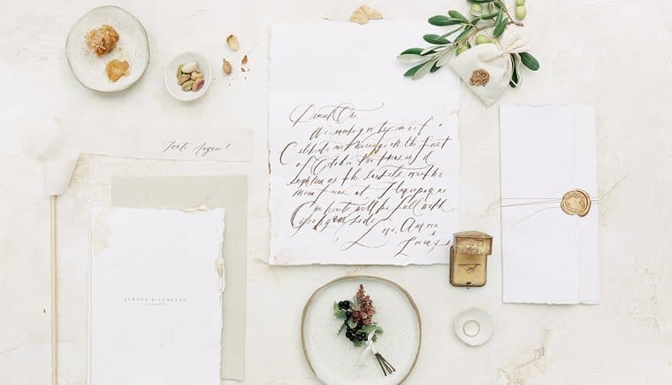 Small Village Wedding with Italian Flair by Erika Kobziak and Andrew and Ada Photography