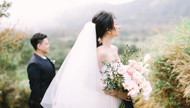 Exotic Elopement in Taiwan by Maricle Kang Photo