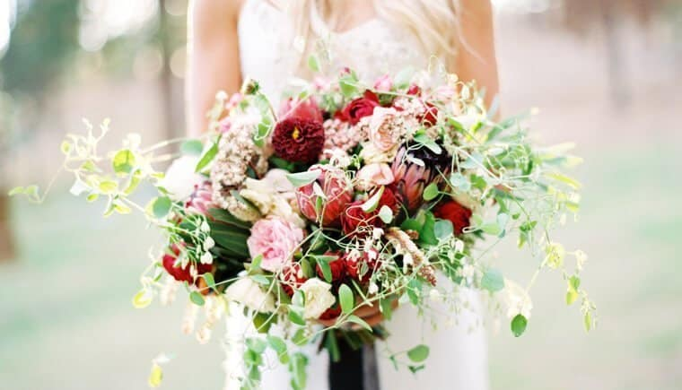 Romantic Bohemian Wedding by Erich McVey Photography