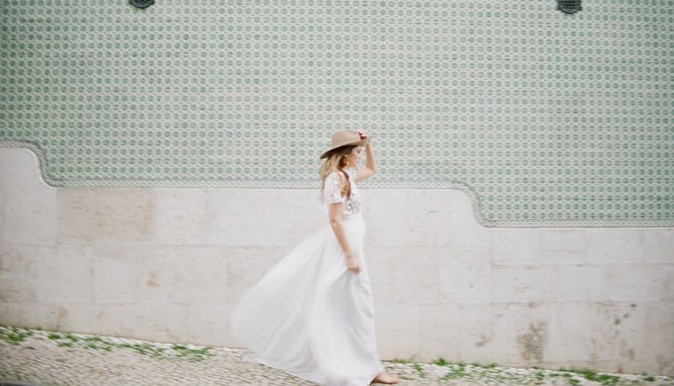 Modern City Bride in Lisbon by Celine Chhuon Photography