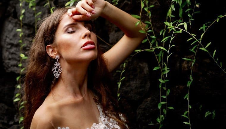 Sensual Bridal Inspirations from the rainforest of Bali by Vivid Symphony