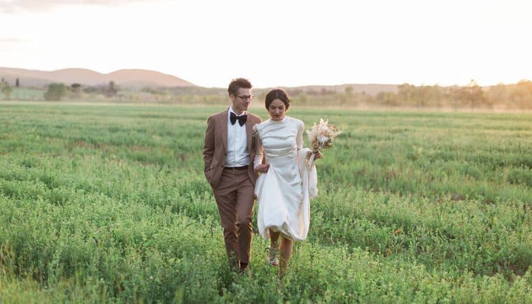 Romantic Italian Country Wedding by Alain M. Photography