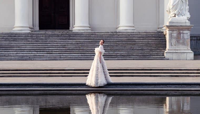 Dreamlike Bridal Dresses by Eva Poleschinski