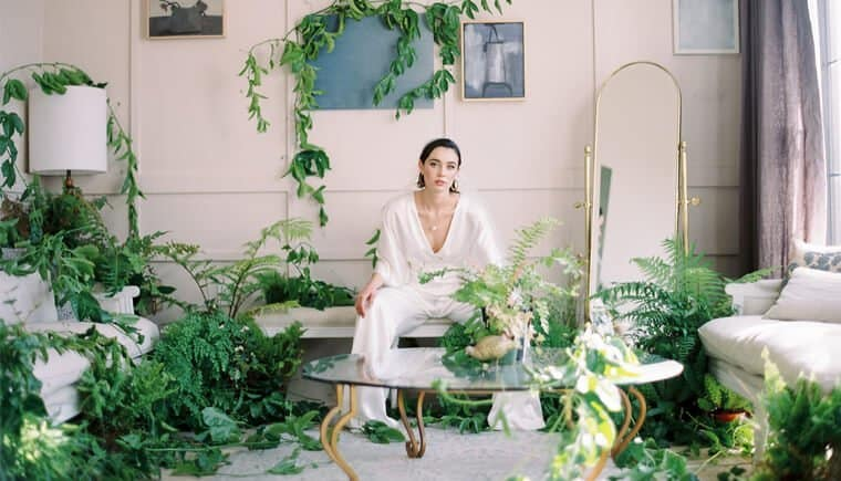 Blooming Bridal Inspirations – modern and minimalist