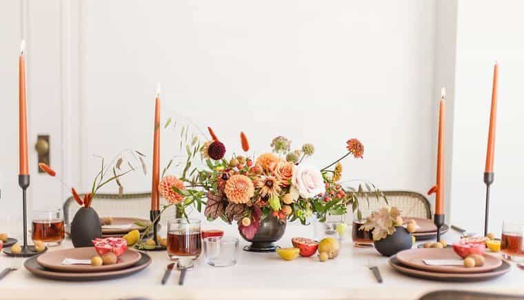Minimalist Autumn Wedding Inspirations
