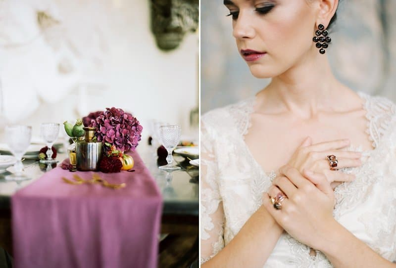 Culinary Fireworks of Wedding Inspiration by Lucy Davenport