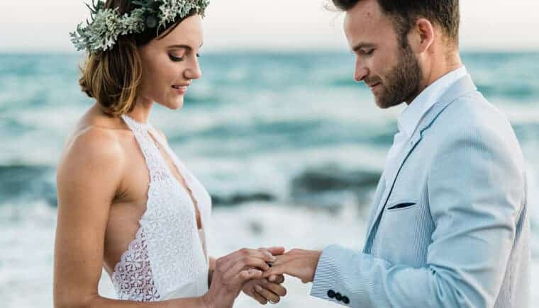 Refreshing French Riviera Elopement by Christoph Serrano
