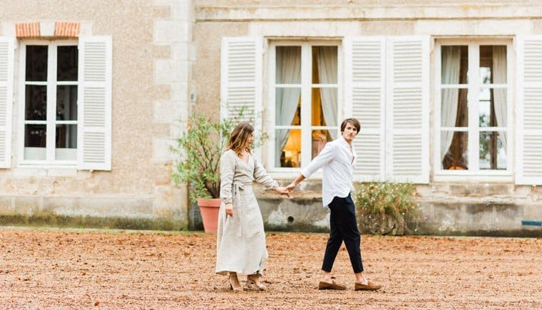 Engagement Picnic at Chateau Bouthonvilliers