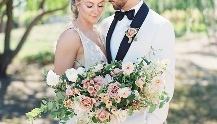 Elegant Wedding In The Vineyards Of The Tyge William Cellars