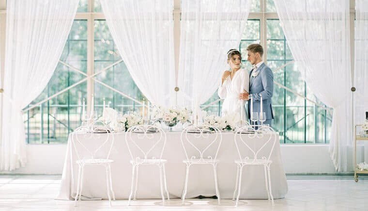 Finnish wedding ideas with modern accents